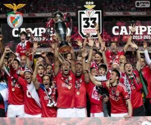 Puzzle Benfica, champion 2013-2014