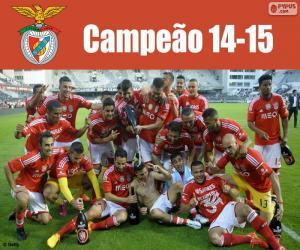 Puzzle Benfica, champion 2014-2015