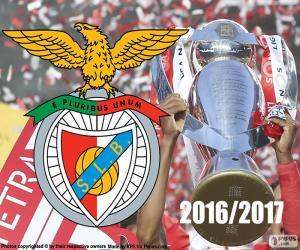 Puzzle Benfica, champion 2016-2017