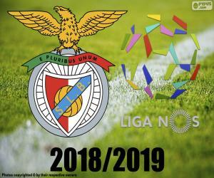 Puzzle Benfica, champion 2018-2019