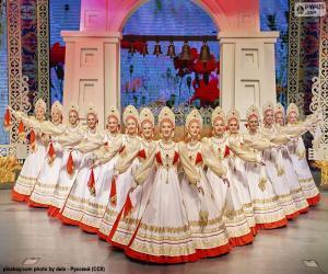 Puzzle Beriozka, danse russe classique