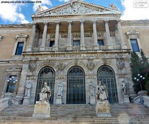 Puzzle Bibliothèque nationale d'Espagne, Madrid