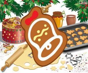Puzzle Biscuit de Noël comme une cloche