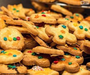Puzzle Biscuits décorés, Noël