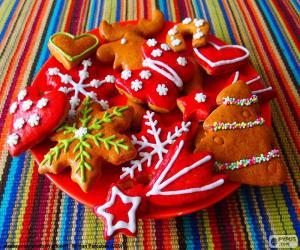 Puzzle Biscuits de Noël maison