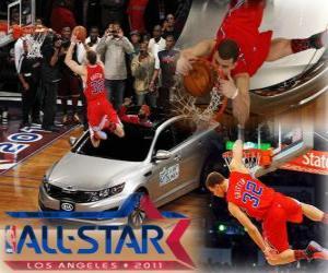 Puzzle Blake Griffin est le nouveau roi de la NBA Slam Dunk 2011