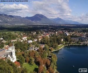 Puzzle Bled, Slovénie