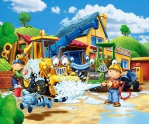 Puzzle Bob et Wendy machines à laver