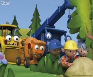 Puzzle Bob le Bricoleur et ses amis