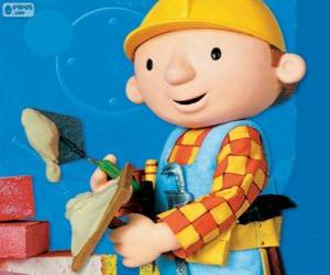 Puzzle Bob le bricoleur travaillant