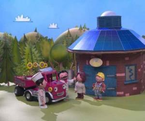 Puzzle Bob parle d'un nouvel emploi