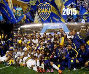 Puzzle Boca champion 1ère Division 2015