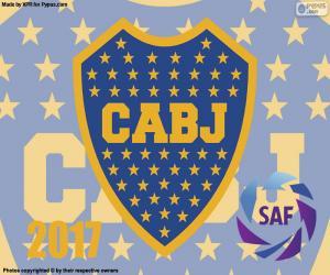 Puzzle Boca Juniors, champion 2016-2017