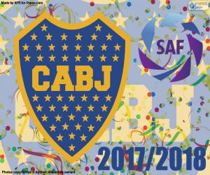 Puzzle Boca Juniors, Superliga 2017-2018