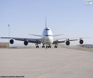 Puzzle Boeing 747SP