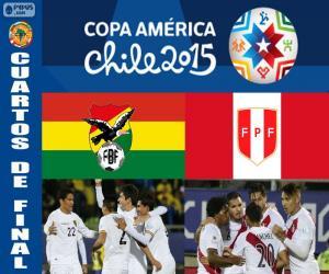 Puzzle BOL - PER, Copa America 2015