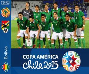 Puzzle Bolivie Copa América 2015
