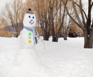Puzzle Bonhomme de neige