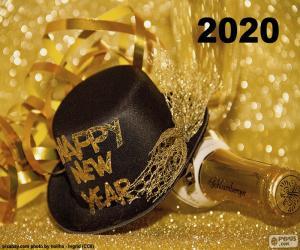 Puzzle Bonne année 2020