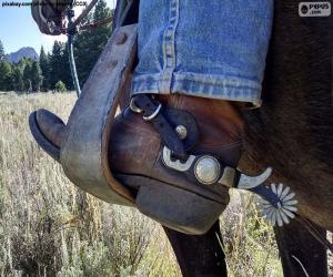 Puzzle Botte Cowboy