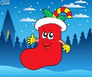 Puzzle Botte du Père Noël