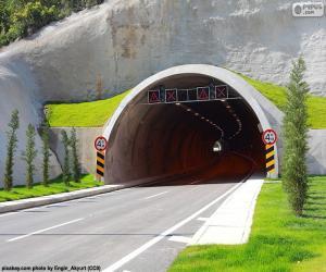 Puzzle Bouche de tunnel
