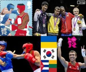Puzzle Boxe - 60kg hommes Londres 2012