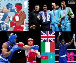 Puzzle Boxe plus 91kg hommes Londres2012