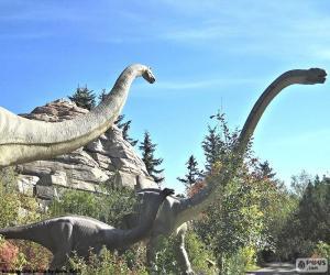 Puzzle Brachiosaurus