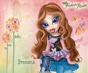 """Puzzle Breeana est un timide et solitaire, est appelé """"Haditha à la mode"""", elle et sa famille sont des fées"""