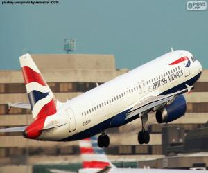 Puzzle British Airways, Grande-Bretagne