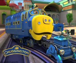 Puzzle Bruno, locomotive diesel électrique de Chuggington