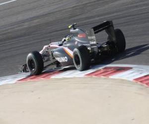 Puzzle Bruno Senna - HRT - Bahreïn 2010