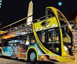Puzzle Buenos Aires bus touristiques