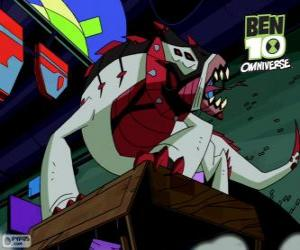 Puzzle Buglézard est un alien du Nemetrix, Ben 10 Omniverse
