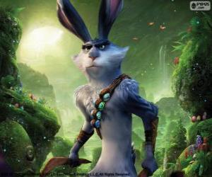 Puzzle Bunny est un lapin géant. Caractère de Les Cinq légendes