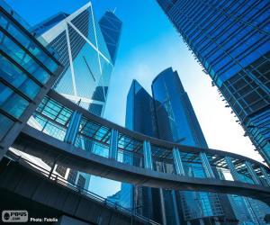 Puzzle Bureaux de bâtiments Hong Kong