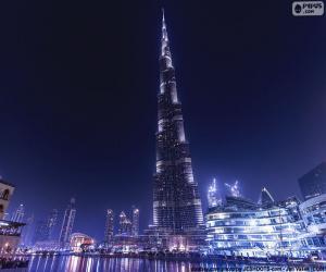 Puzzle Burj Khalifa, Dubaï