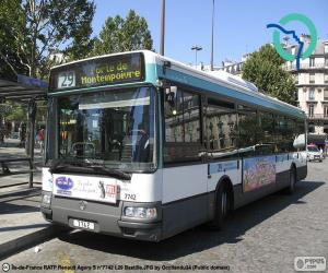Puzzle Bus urbain de Paris