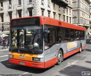 Puzzle Bus urbain de Rome