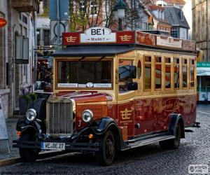 Puzzle Bus Vintage
