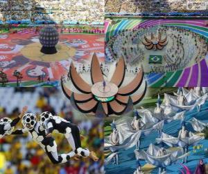 Puzzle Cérémonie d'ouverture de la Coupe du monde Brésil 2014
