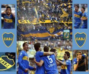 Puzzle CA Boca Juniors