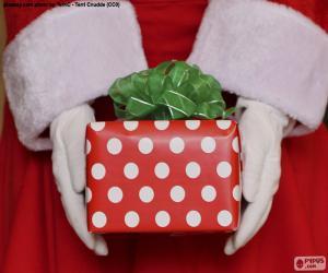 Puzzle Cadeau du Père Noel