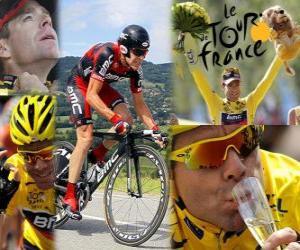 Puzzle Cadel Evans vainqueur du Tour de France 2011