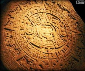Puzzle Calendrier maya