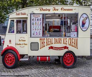 Puzzle Camion de crème glacée