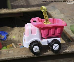 Puzzle Camion de jouet