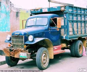 Puzzle Camion Fargo, 1947
