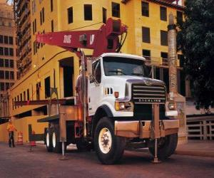 Puzzle Camion-grue